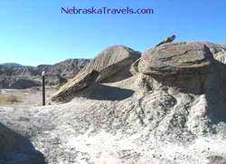 Nebraska Toadstool Geologic Park Trail - Nebraska Travels Attraction in Badlands area