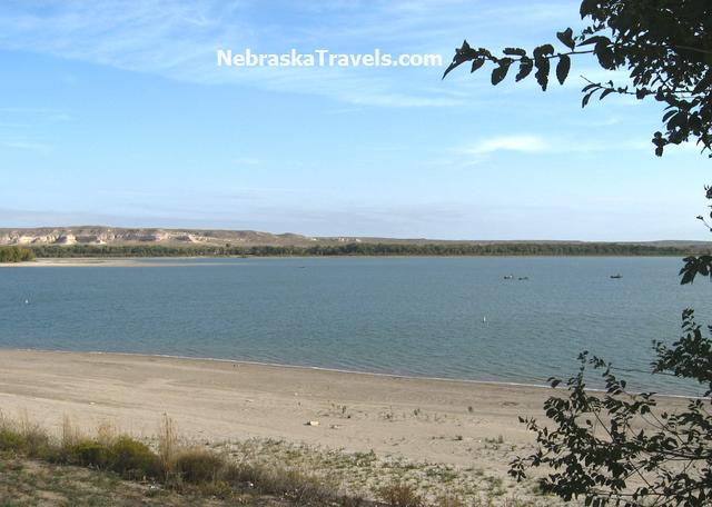 Lake Minatare State Recreation Area near Scottsbluff in Western Nebraska